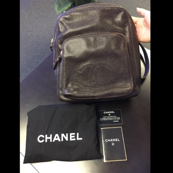 7b828e25714 CHANEL Bags   Cc Caviar Backpack   Poshmark